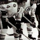 BRAD PARK & BOBBY ORR 8X10 PHOTO BOSTON BRUINS PICTURE HOCKEY NHL