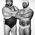 MIKHAN SINGH 8X10 PHOTO WRESTLING PICTURE STAMPEDE WRESTLING