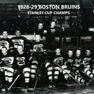 BOSTON BRUINS 1928-29 TEAM 8X10 PHOTO HOCKEY PICTURE NHL STANLEY CUP CHAMPS