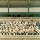 1971 LOS ANGELES RAMS 8X10 TEAM PHOTO FOOTBALL PICTURE LA NFL