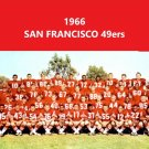 1966 SAN FRANCISCO 49ers 8X10 TEAM PHOTO FOOTBALL PICTURE NINERS NFL