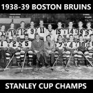 BOSTON BRUINS 1938-39 TEAM 8X10 PHOTO HOCKEY PICTURE NHL STANLEY CUP CHAMPS