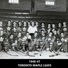 TORONTO MAPLE LEAFS 1946-47 TEAM 8X10 PHOTO HOCKEY PICTURE NHL