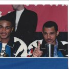 FELIX TRINIDAD 8X10 PHOTO BOXING PICTURE AND FATHER