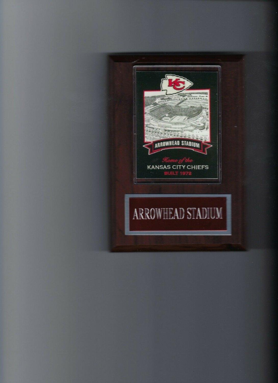 ARROWHEAD STADIUM BANNER PLAQUE KANSAS CITY CHIEFS KC FOOTBALL NFL