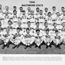 1948 BALTIMORE COLTS  8X10 TEAM PHOTO FOOTBALL PICTURE NFL