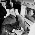 JOHN DILLINGER 8X10 PHOTO ORGANIZED CRIME MOBSTER MOB PICTURE IN CUFFS SLEEPING