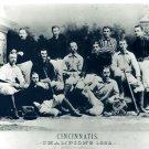 1882 CINCINNATI RED STOCKINGS 8X10 TEAM PHOTO BASEBALL MLB PICTURE