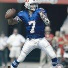 J P LOSMAN 8X10 PHOTO BUFFALO BILLS PICTURE NFL FOOTBALL SET TO THROW