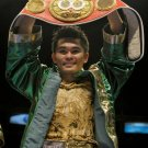 BRIAN VILORIA 8X10 PHOTO BOXING PICTURE WITH BELT
