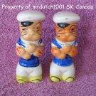 Vintage 1930s Popeye Salt Pepper Shakers made in Japan
