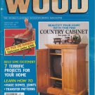 Better Homes And Gardens Wood Magazine February 1994 Issue No.68 Vol.11 No.2