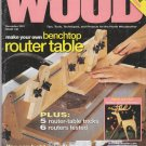 Better Homes And Gardens Wood Magazine December 2001 Vol.18 No.9 Issue No.138