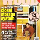 Better Homes And Gardens Wood Magazine February/March 2005 Vol.22 No.1 Issue 161