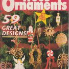 Home & Country Wood Ornaments Christmas Woodrafts Special 1995 Pattern Booklet