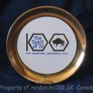 Manitoba Canada 1970 Centennial Collector Plate