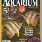 Freshwater and Marine Aquarium Magazine November 2008