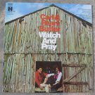 Carl & Pearl Butler Watch And Pray 1972 Vinyl LP Record