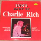 Charlie Rich Sun's Best Of Charlie Rich 1974 Vinyl LP Record