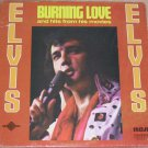 Elvis LP Record Burning Love and Hits From His Movies Vol 2