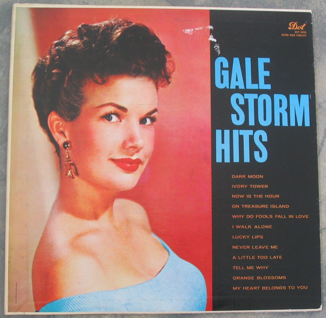 Gale Storm Hits Vinyl LP Record Dot Label