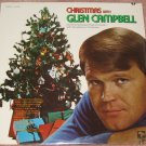 Glen Campbell Christmas With Glen Campbell Vinyl LP Record Still Sealed