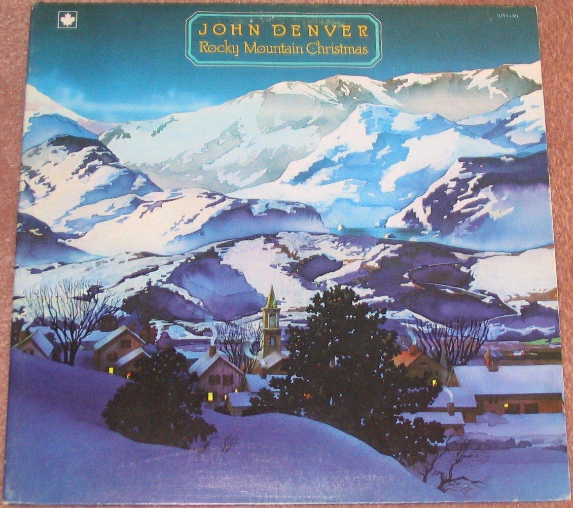 John Denver Rocky Mountain Christmas 1975 Vinyl LP Record
