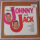 Johnny and Jack Here's Johnny and Jack Still Sealed Vinyl LP Record Vocalion