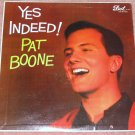 Pat Boone Yes Indeed! Vintage Vinyl LP Record Dot Label