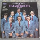 The Blackwood Brothers Quartet 1973 Vinyl LP Record How Great Thou Art