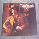 Tom Jones Country 1982 Vinyl LP Record