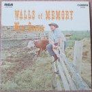 Wilf Carter Walls Of Memory Vinyl LP Record