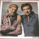 Willie Nelson and Ray Price 1980 Vinyl LP Record