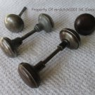 Lot Of Antique/Vintage Metal Door Knobs Salvage Parts Repair Restoration Project