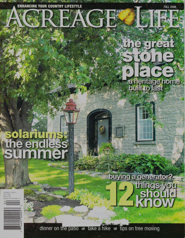 Acreage Life Fall 2006 Magazine Vol.2 Issue 4 Canadian Magazine