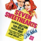 Seven Sweethearts (1942) - DVD - NEW - Kathryn Grayson, Marsha Hunt