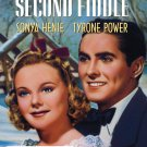 Second Fiddle (1939) - DVD - NEW - Sonja Henie, Tyrone Power