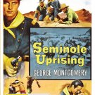 Seminole Uprising (1955) - DVD - NEW - George Montgomery, Karin Booth - WESTERN