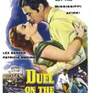 Duel on the Mississippi (1955) - DVD - NEW - Lex Barker, Patricia Medina