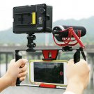 """NISWAH Video Camera Cage Stabilizer Film Making Rig for iPhone Samsung 4-7"""" Smart Phone"""