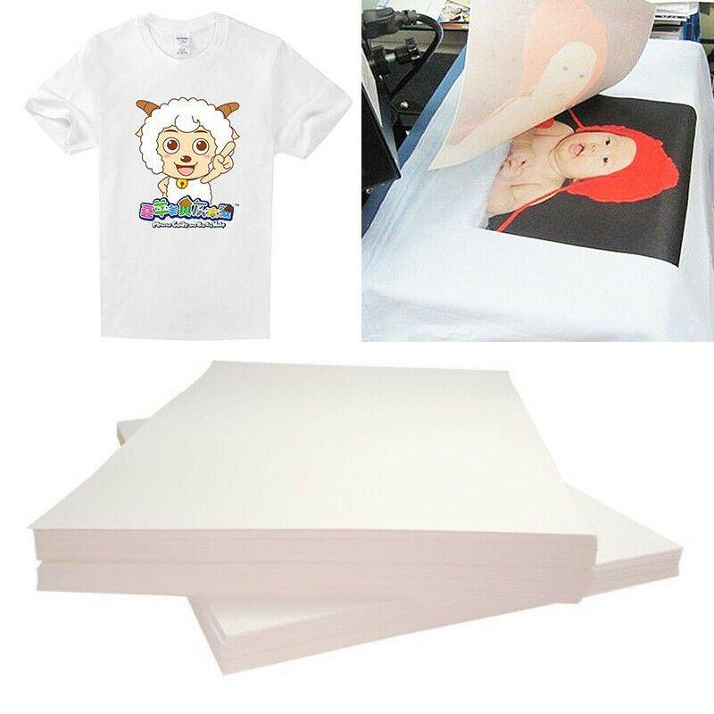 Heat Transfer Paper Sheets T-Shirt Print On Light Fabric Cloth Craft DIY 20 PCS