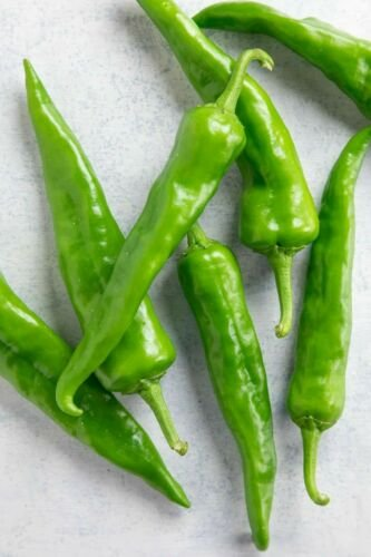50 Seeds of Hatch Sandia Chili Pepper Seeds, NuMex, Hot Green Chile, Ristra, FREE SHIP