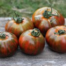 30 Seeds of Chocolate Stripes Tomato, Rare Heirloom, NON-GMO, Variety Pack Sizes