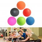 Lacrosse Ball Mobility Myofascial Trigger Point Release Body Massage Ball - Orange