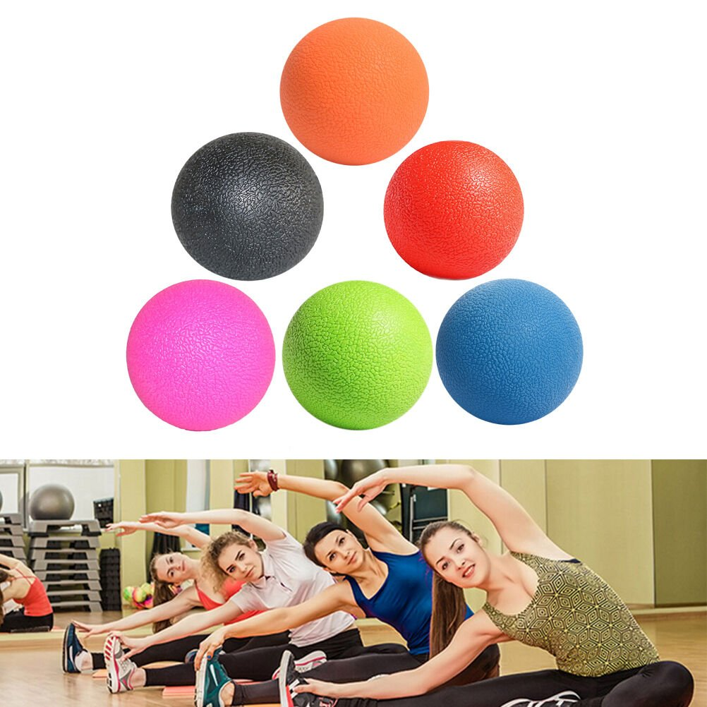 Lacrosse Ball Mobility Myofascial Trigger Point Release Body Massage Ball - Black