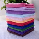 Multi-Color Soothing Cotton Face Soft Towel Cleaning Wash Cloth Hand Towel 10Pcs