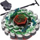 UNA Beyblade Poison Serpent Metal Fusion STARTER SET w/ Launcher & Ripcord - BEST SELLER