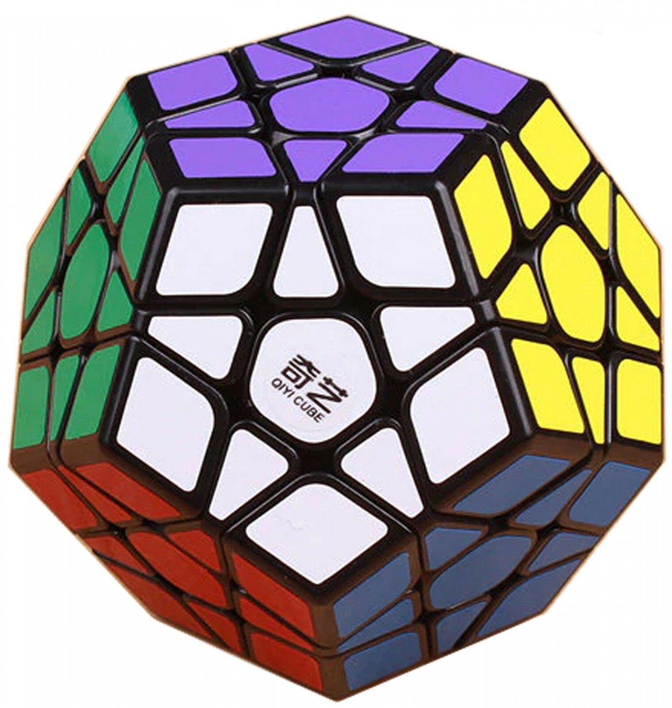 Una 12 Sided QiYi Megaminx QiHeng Speed Cube Magic Twist 3D Puzzle Brain Teaser