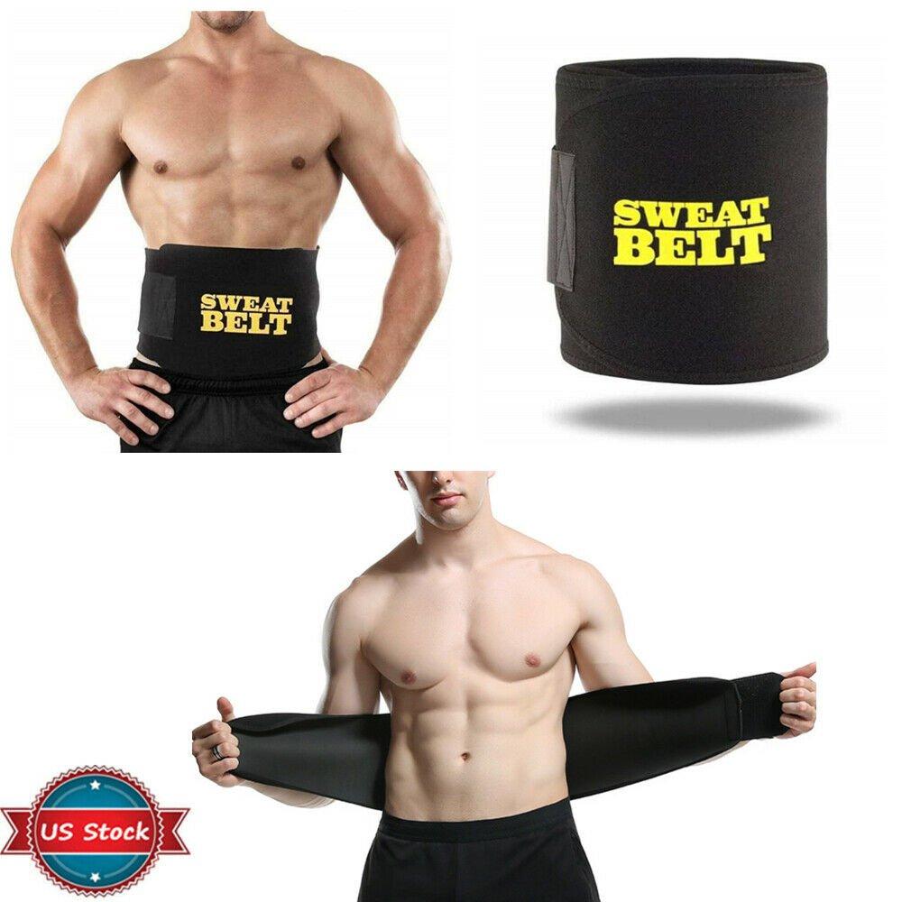 Waist Trainer Corset Belt Sweat Shapewear Back Body Vest Belly Trimmer Women Men