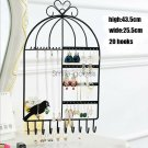 Una Jewelry Display Rack Earrings Necklace Stand Organizer Wall Mount Hanging Holder